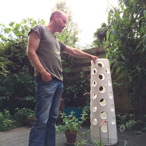 the first vertical garden and Matthias