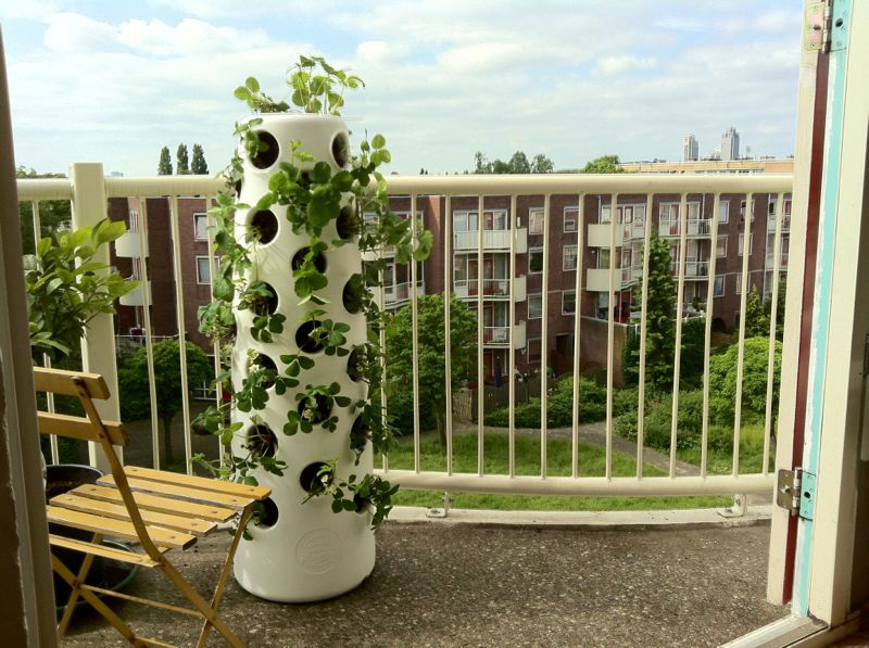 Vertical garden tube 2014 may Garden tube